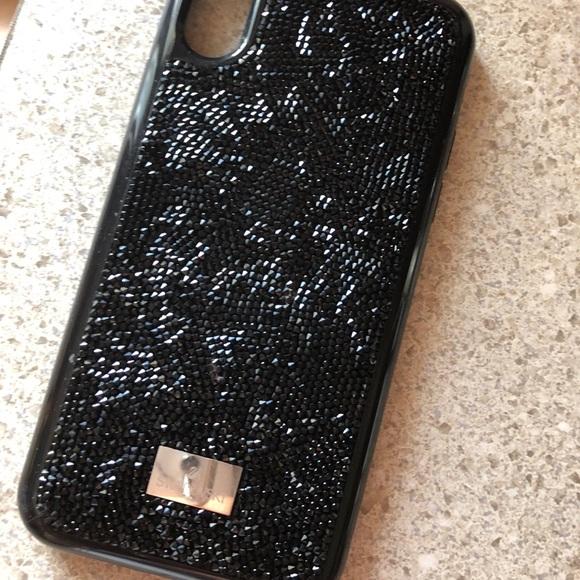 finest selection 7de7c 1169f Swarovski crystal phone case iPhone X